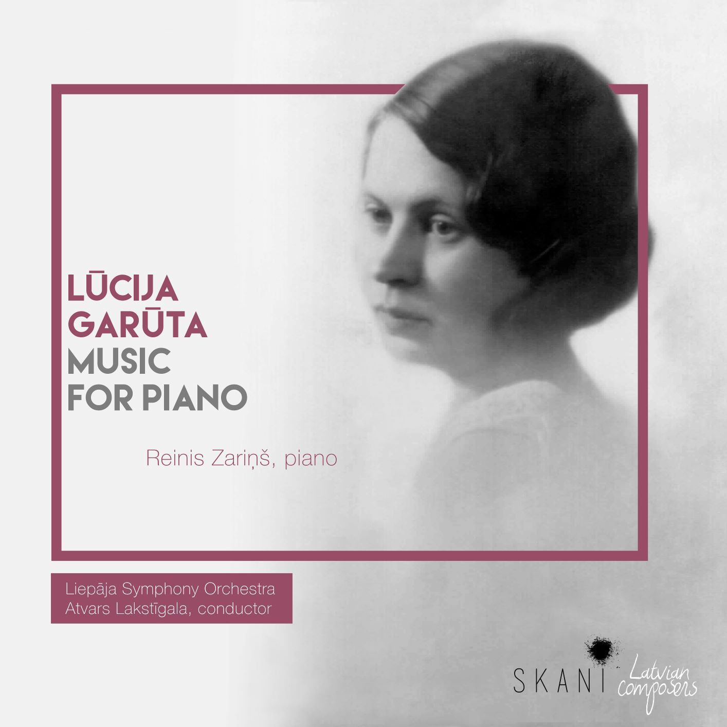 Lūcija Garūta. Music for Piano.