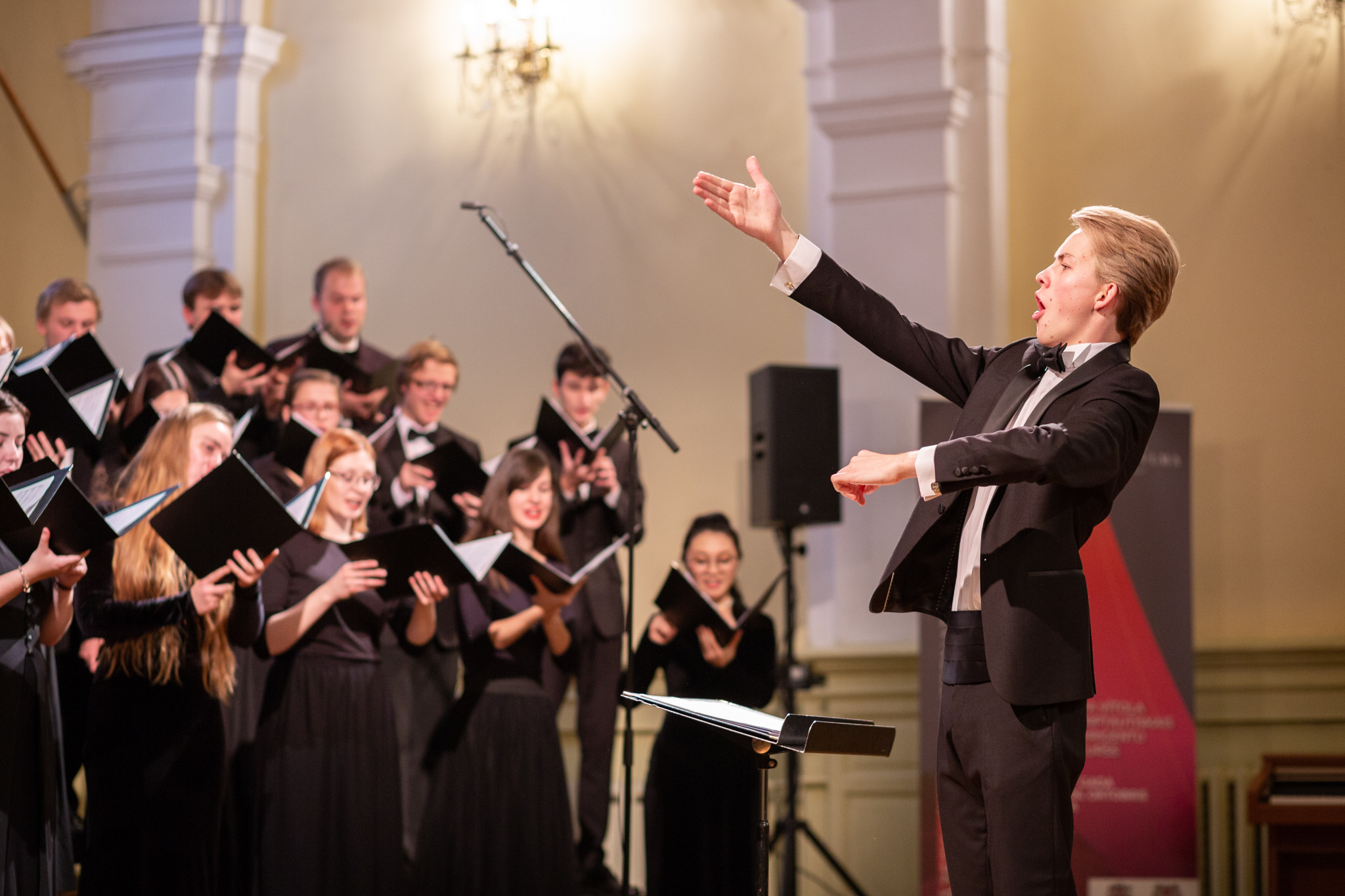 The first place of  Jazeps Vitols 6th International Choral Conductor's Competition goes to Matīss Pēteris Circenis (Latvia)