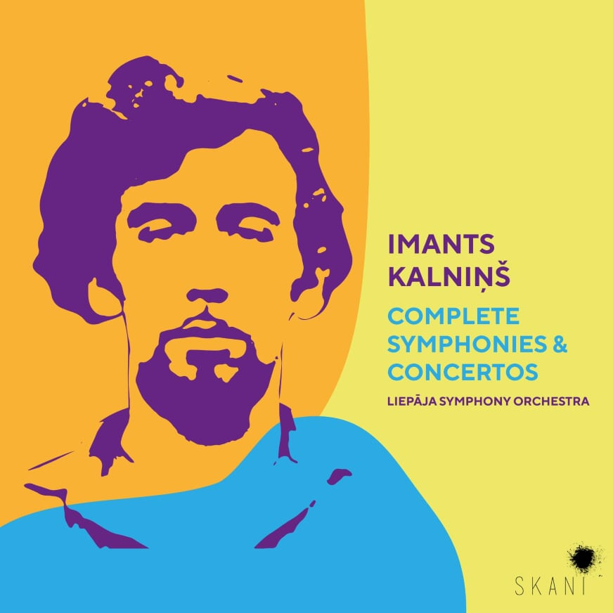 SKANi to release complete collection of symphonies & concertos by Imants Kalniņš